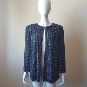Adrienne Papell Evening Beaded Jacket